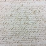 Record of Waubin's indenture to Rev. Woodbridge